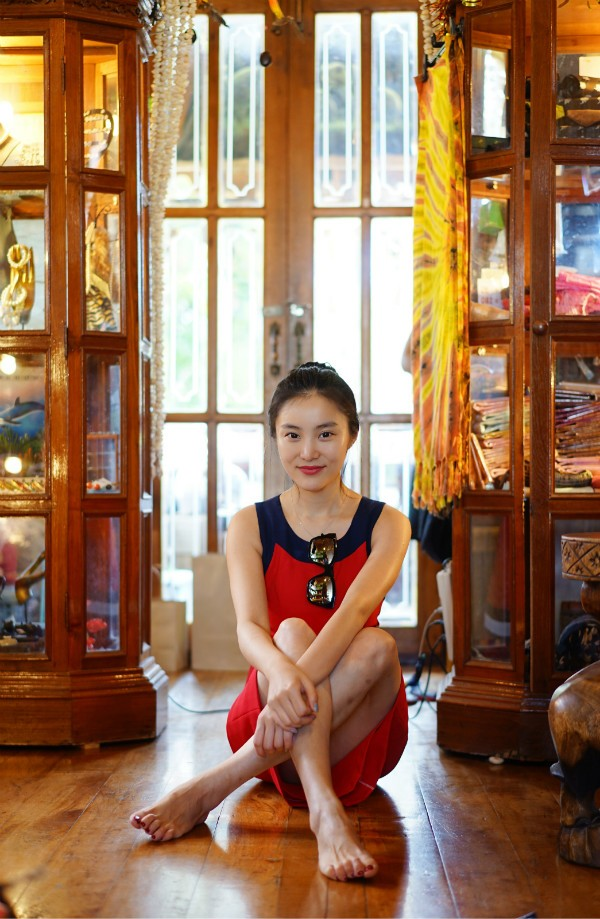在泰国苏梅岛露天浴室 享受一丝不挂的海岛温情