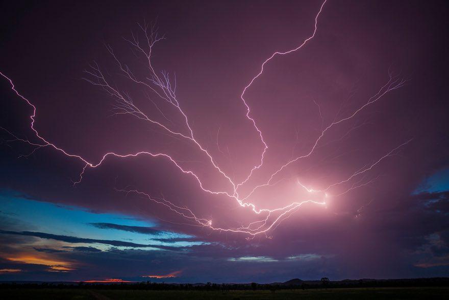 """闪电追逐者 澳大利亚震撼人心的自然景象"""""""