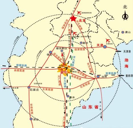 雄安高铁规划设计图