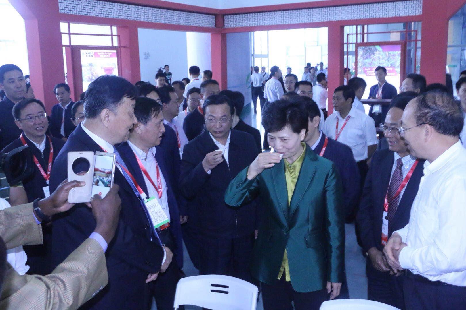 2018中国·贵州国际茶文化节暨茶产业博览会在湄潭举行