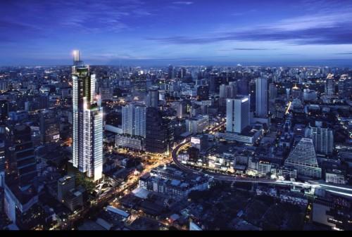 曼谷的房地产市场随着城市轨道交通网络的扩张而增长