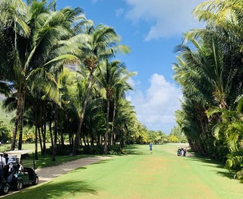 宿于毛里求斯世界遗产地,享果岭挥杆之乐