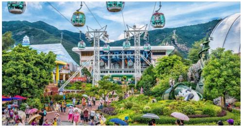暑假一家老少香港游,中年人护心常备百年品牌人字牌救心