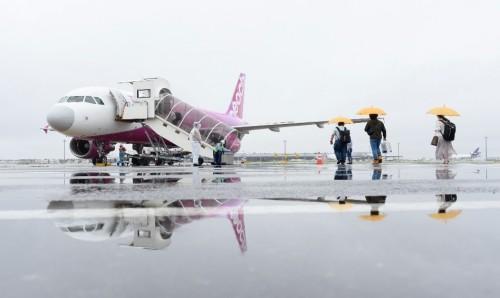 Peach航空日本国内线时隔70天喜迎复航 彻底落实防控措施并确保航线安全运营