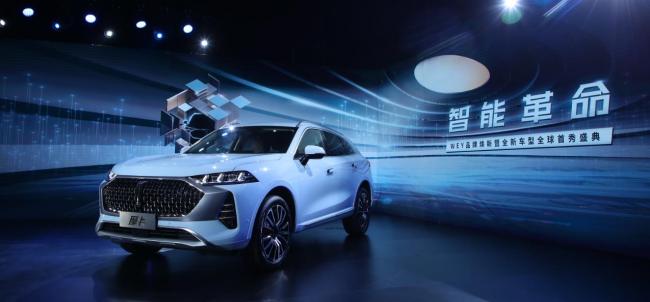 """汽车界新物种诞生 WEY品牌以""""新一代智能汽车""""全面焕新"""